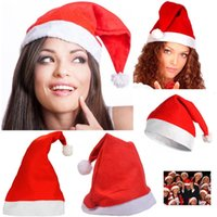 Fashion Nonwovens Christmas Caps Christmas Santa Claus Hats ...