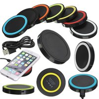 Universal Q5 Wireless Charging Charger Power Pad Qi Standard...