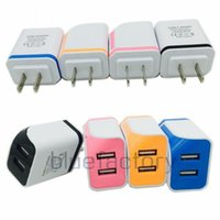 Universal Dual USB AC Home Power Adapter Wall Charger Chargi...