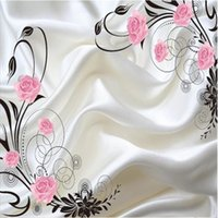 Wholesale- Custom photo wallpaper Large sofa TV background w...