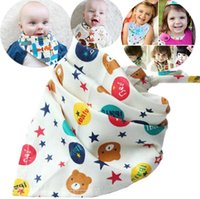Lovely children Bibs or pets cotton clothing triangular scar...
