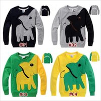 Kids Spring and Autumn Clothing Boys Cotton Long- Sleeved T- s...