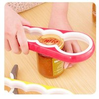 Can Opener 4 In 1 Gourd- shaped Multi Purpose Screw Cap Jar O...