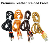 Aluminium Premium PU Leather Type C Cable High Speed 2A Fast...