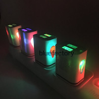 Water- drop EU US Plug Dual USB LED light Wall Chargers Adapt...