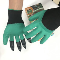 Garden Genie Gloves For Digging & Planting Unisex 4 Claws Ea...