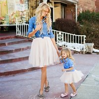Mother and Daughter Clothes Parent Child Loaded Cowboy 2- pie...