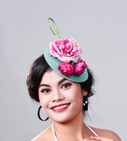 elegant Ladies royal fascinators Polyester fascinator women ...
