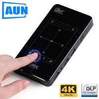AUN MINI Projector. D7. Android Beamer, Built- in WIFI, Bluet...