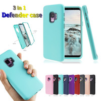 3 in 1 PC + tpu silincone soft case slim shockproof dropproo...
