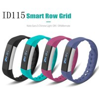 2017 New ID115 Smart Bracelets Fitness Tracker Step Counter ...