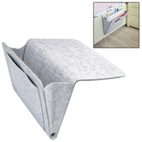 Bedside Storage Bags Felt Home Sofa Desk Storage Organizer w...