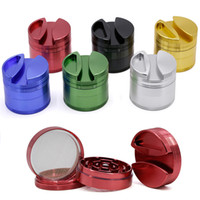 75mm Tobacco Grinder 63mm 4 Layers Aluminum Alloy Herb Grind...