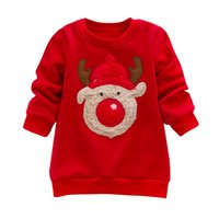 Genuine MUQGEW Toddler Girl Winter Clothes Red Christmas Elk...