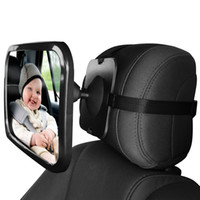 Baby Car Mirror for Rear View - Facing Back Seat for Infant ...