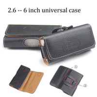 2. 6 inch to 6 inch universal magnetic pu leather case purse ...
