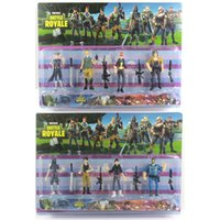 2 Style Fortnite Plastic Doll toys 2018 New kids Cartoon gam...