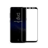 For Samsung S9 Film Full screen Transparent Black Edge Silk ...