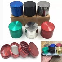Alloy Smoking Herb Grinder 4 Parts Metal Smoke Tobacco Acces...