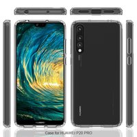 For Huawei P20 P20 Pro P20 Lite P9 Lite Case Transparent TPU...