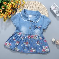 Baby Girl Fashion Clothing Toddler Girls Summer Dresses Flow...