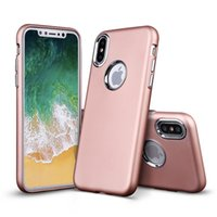 For iPhone Xs Max Case Luxury Electroplating buttons Ultra- T...