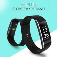 Smart band Fitness track z6 plus Heart Rate monitor wristban...