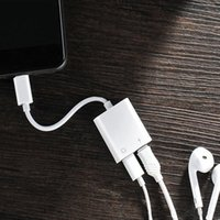 2 in 1 Dual For Lightning to Headphone Audio Charger Adapter...
