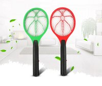 Handheld Electric Mosquito Fly Swatter Zapper Bug Insect Was...