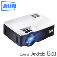 AUN LED Proyector AKEY1 Plus for Home Theater, 1800 Lumens, ...