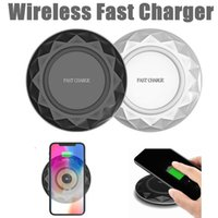 Diamond Fast Qi Wireless Charging Charger Dock Pad Ultrathin...