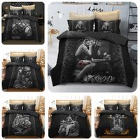 Beauty and Skull Bedding Set Duvet Cover 3 pcs Skull Print D...