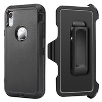 For iPhone XS XR XS MAX 2in1 Defender Case High Impact Hard ...