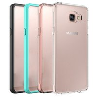 For Samsung A5 2016 Case Transparent TPU material and Soft P...