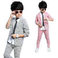 Boys Suits 2018 Spring Autumn New Style Children Kids Weddin...