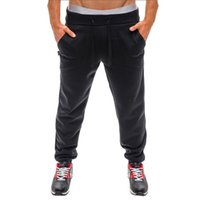 WUQGEW trousers men jogger summer or spring Mens Casual Busi...
