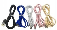 New Braided Micro USB Cable Charging Sync Data Type C Cord D...