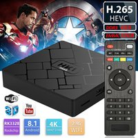 HK1 max Android8. 1 TV BOX 4GB 32GB Quad Core 4K Media Player...