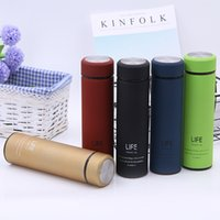 500ml Thermos Tea Vacuum Flask With Filter Stainless Steel 3...