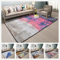 Abstract Art Rugs And Carpets For Home Living Room Colorful ...