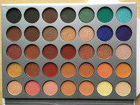 Hot selling Makeup Eyeshadow 35 color Eyeshadow hill Palette...