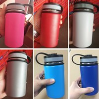 8 Colors Vacuum Water Bottle 12oz Insulated Stainless Steel ...