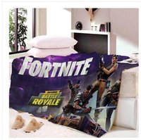 Home Textile Fortnite Blanket Sofa Polyester Bed Sheet Women...