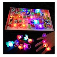 Baby Anime Cartoon LED Flashing Light Up Glowing Finger Ring...