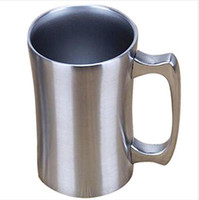 560ml Insulated Mugs 20 oz Insulated Vacuum Beer Mugs Stainl...