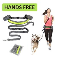 Pet Dog Running Strip Rope Set Hands Free Walk Dog Jogging P...