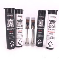 Newest Kingpen Vape Cartridges 0. 5ml 1. 0ml Cotton Coil Glass...