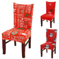 christmas Chair covers Home Dining Multifunctional antifouli...