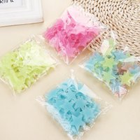 100pcs 3D Stars Glow In Dark Luminous Fluorescent Plastic Wa...