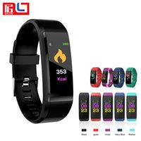 ID115PLUS Smart Wristbands Fitness Bracelet Heart Rate Track...
